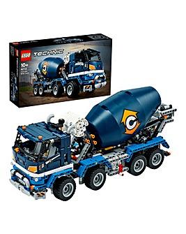 LEGO Technic Concrete Mixer Truck - 42112