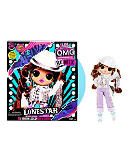 LOL Surprise OMG Remix Lonestar Fashion Doll - 25 Surprises with Music