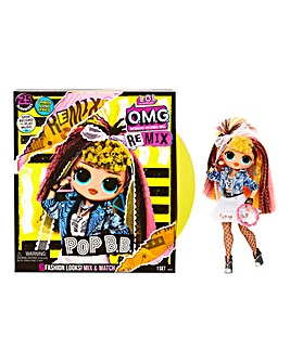 LOL Surprise OMG Remix Pop B.B. Fashion Doll - 25 Surprises with Music