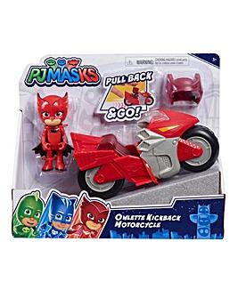 PJ Masks Kickback Motorcycles - Owlette