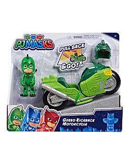 PJ Masks Kickback Motorcycles - Gekko