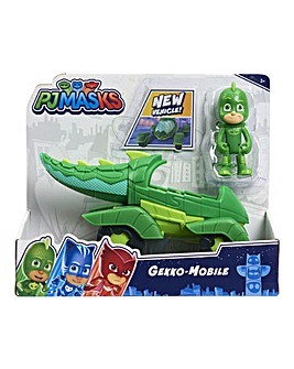 PJ Masks Vehicle & Figure - Series 2 - Gekko