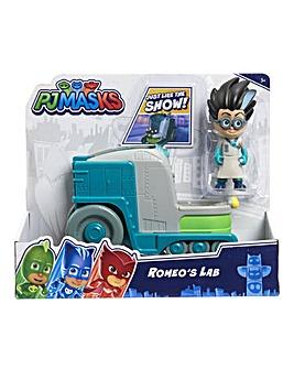 PJ Masks Vehicle & Figure - Series 2 - Romeo