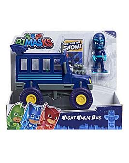 PJ Masks Vehicle & Figure - Series 2 - Night Ninja