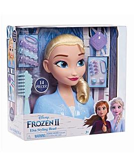 Disney Frozen 2 Elsa Styling Head