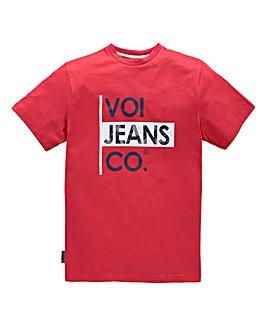 Voi Declan Red T-Shirt Regular