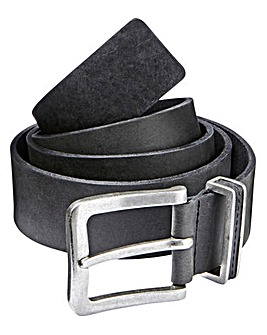 Black Label By Jacamo Royan Leather Belt