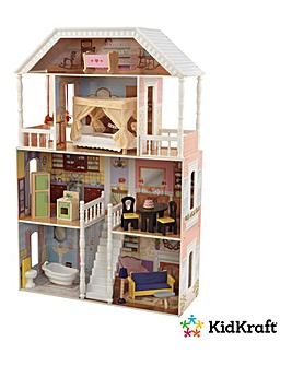 Savanna Dollhouse with Furniture