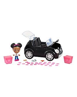 Tiana Pop n Shop Car Playset