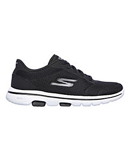 Skechers Go Walk 5 Lucky Trainers Wide Fit