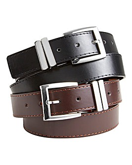 Williams & Brown Pack Of Two Belts