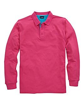Southbay Unisex L/S Pique Polo Shirt
