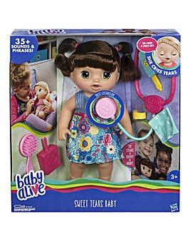 Baby Alive Sweet Tears Baby Brunette