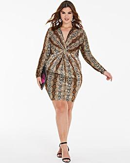 Simply Be By Night Velvet Dress