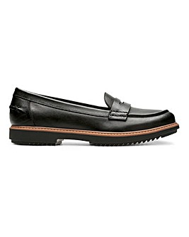 Clarks Raise Eletta Loafers D Fit