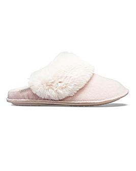Crocs Luxe Mule Slippers E Fit
