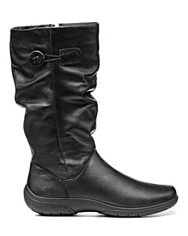 Hotter Derrymore Boots Wide E Fit