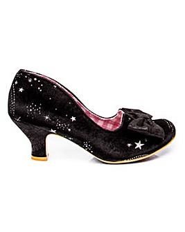 Irregular Choice Dazzle Razzle Shoes Kitten Heel Shoes Standard D Fit