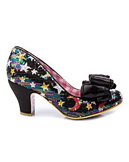 Irregular Choice Ban Joe Stars Shoes Standard D Fit