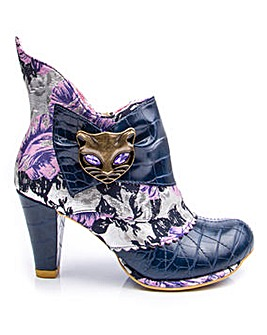 Irregular Choice Miaow Ankle Boots Standard D Fit