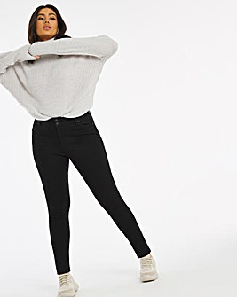 Shape & Sculpt Black Skinny Jeans