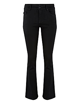 Shape & Sculpt Black Bootcut Jeans