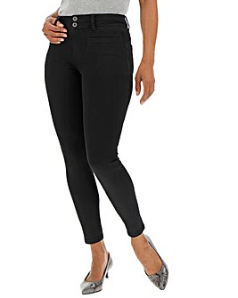 Black Shape & Sculpt Apple Fit Skinny Jeans