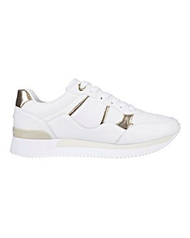 Tommy Hilfiger Lace Up Interlock City Sneakers Standard D Fit
