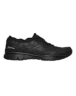 Skechers Seager Lace Up Leisure Shoes Standard D Fit