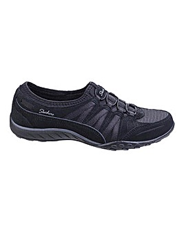 Skechers Breathe Easy Moneybags Slip On Leisure Shoes Standard D Fit