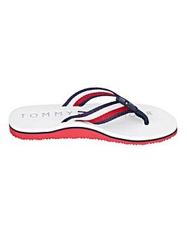 Tommy Hilfiger Ribbon Beach Sandals Standard D Fit