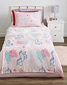 Peppa Pig Stardust Flannel Fleece