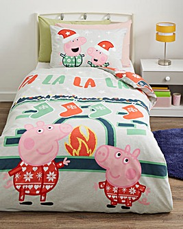 Peppa Pig Falala Reversible Duvet Set