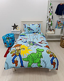 Toy Story Roar Single Reversible Duvet Set