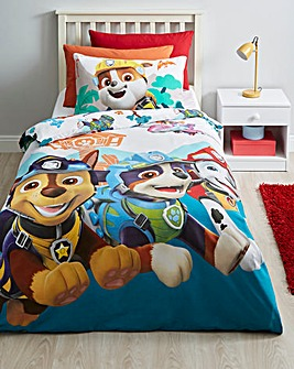 Paw Patrol Dino Reversible Single Duvet Set