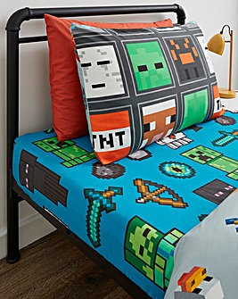 Minecraft Chaser Fitted Sheet