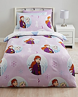 Frozen 2 Snowfall Reversible Duvet Set
