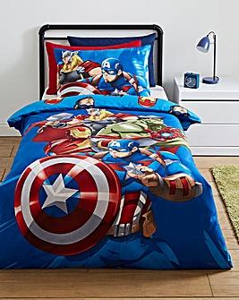 Marvel Avengers Team Manga Reversible Duvet Set