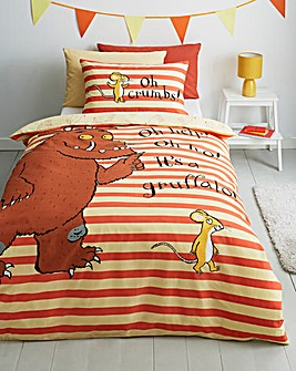 Gruffalo 'Oh Help' Single Duvet Set