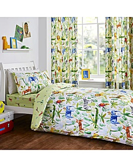Bedlam Jungle Reversible Duvet Set