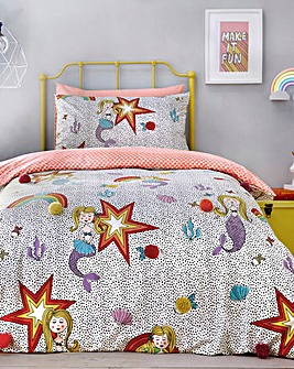 Appletree Kids Mermaid Pom Duvet Set