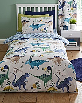 Dino Reversible Duvet Set