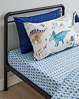 Dino Pack of 2 Fitted Sheets