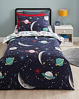 Space Reversible Duvet Set