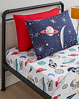 Space Pack of 2 Fitted Sheets