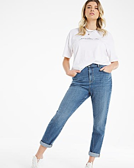 Demi Dark Vintage Mom Jeans