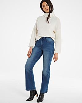 24/7 Organic Vintage Blue Bootcut Jeans
