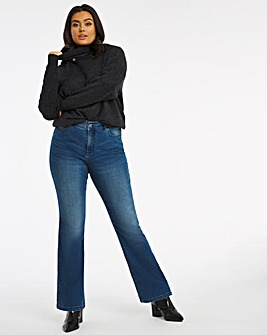 24/7 Vintage Blue Bootcut Jeans made with Organic Cotton
