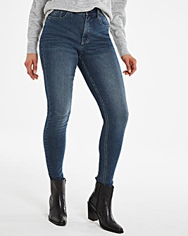24/7 Vintage Indigo Skinny Jeans made with Organic Cotton