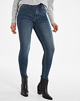 24/7 Organic Indigo Skinny Jeans